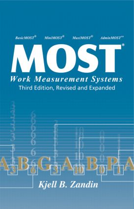 MOST Work Measurement Systems, Third Edition, book cover
