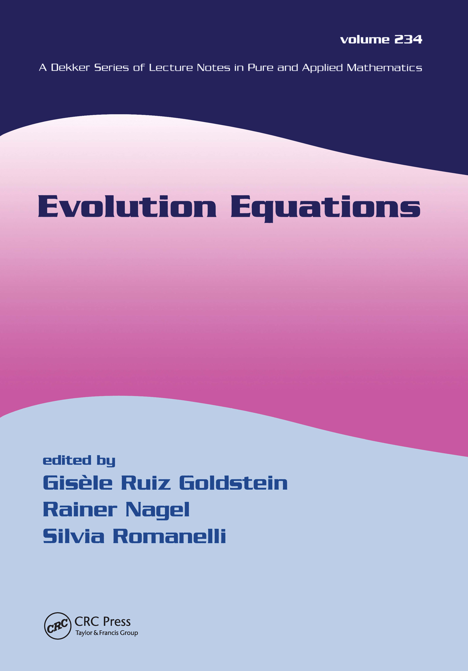 Evolution Equations: 1st Edition (Paperback) book cover