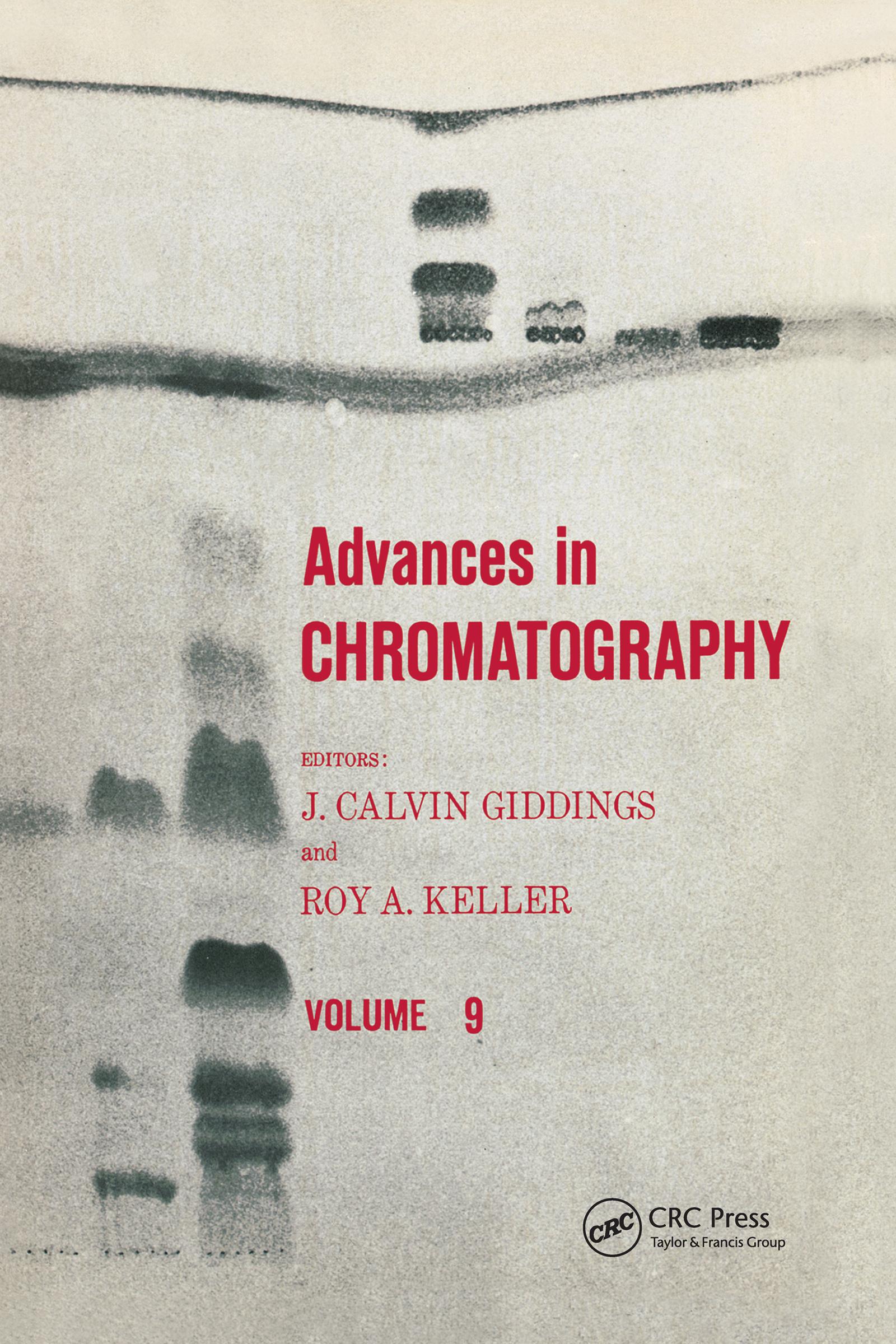 Advances in Chromatography: Volume 9 book cover