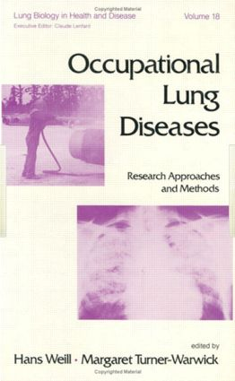 Occupational Lung Diseases: Research Approaches and Methods, 1st Edition (Hardback) book cover