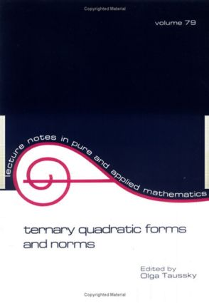 Ternary Quadratic Forms and Norms: 1st Edition (Paperback) book cover