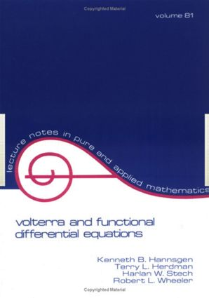 Volterra and Functional Differential Equations: 1st Edition (Paperback) book cover