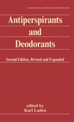 Antiperspirants and Deodorants: 2nd Edition (Hardback) book cover