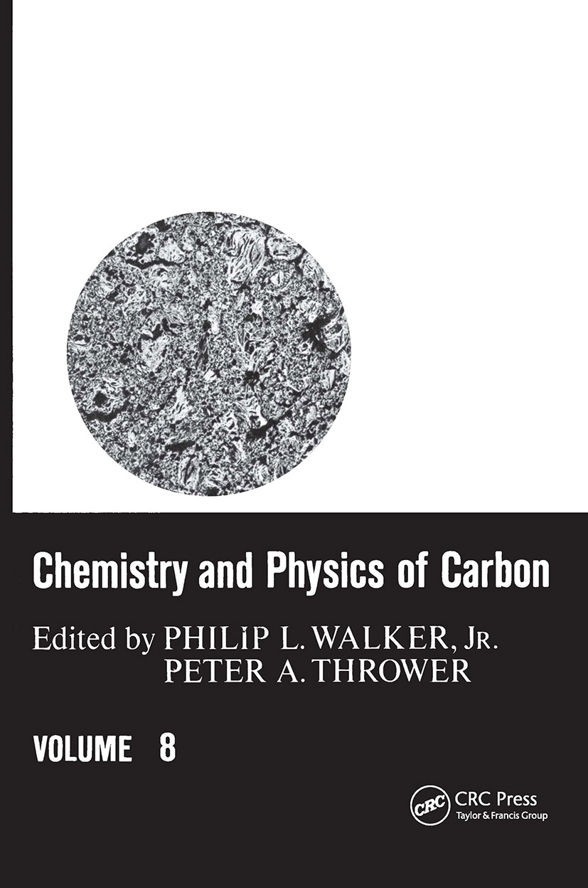 Chemistry & Physics of Carbon: Volume 8, 1st Edition (Hardback) book cover