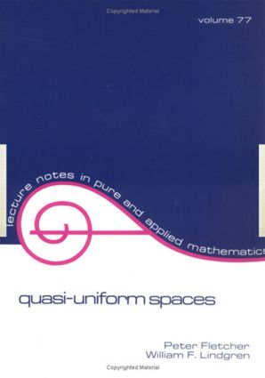 Quasi-Uniform SPates: 1st Edition (Paperback) book cover