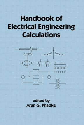 Handbook of Electrical Engineering Calculations: 1st Edition (Hardback) book cover