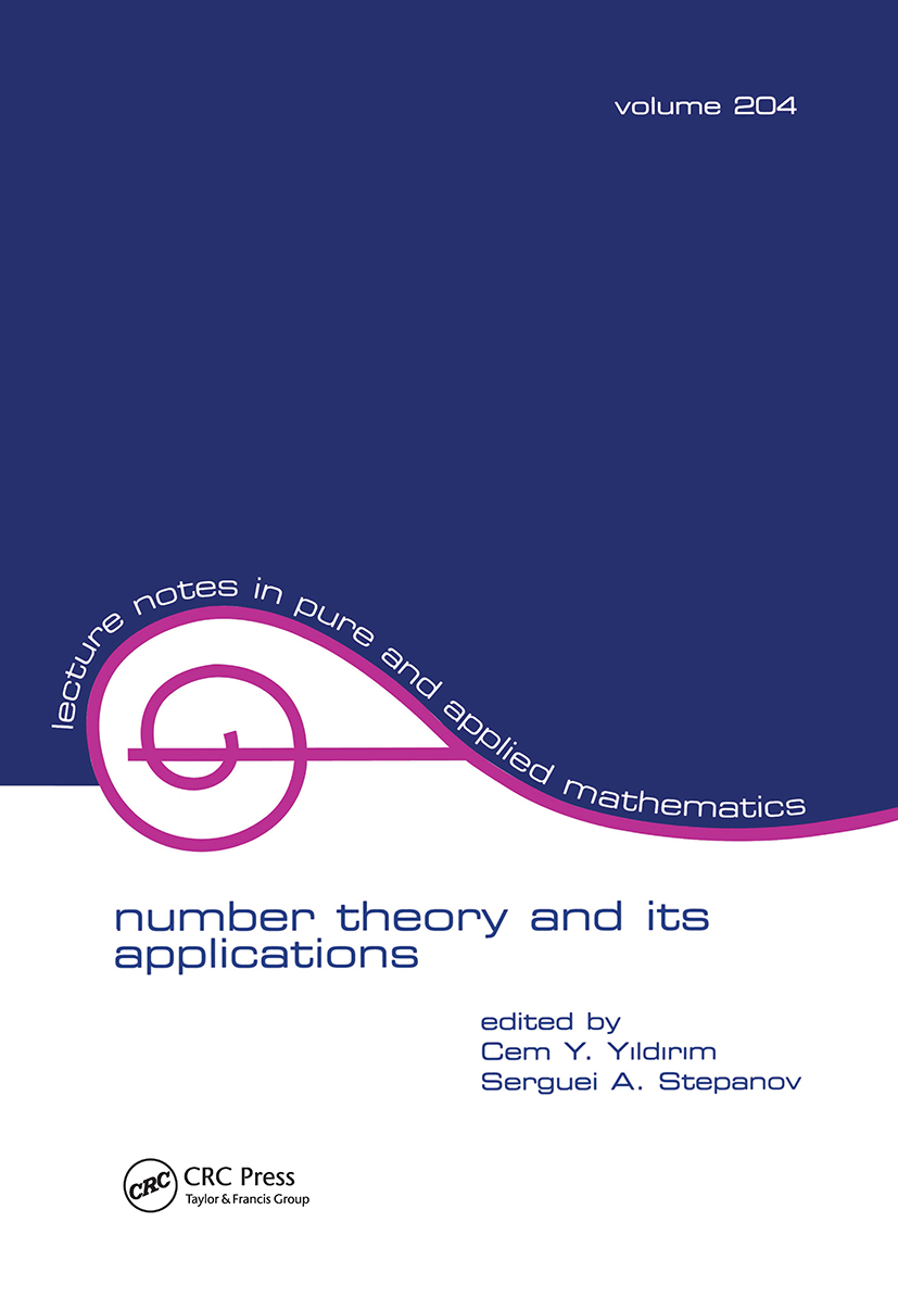 Number Theory and Its Applications