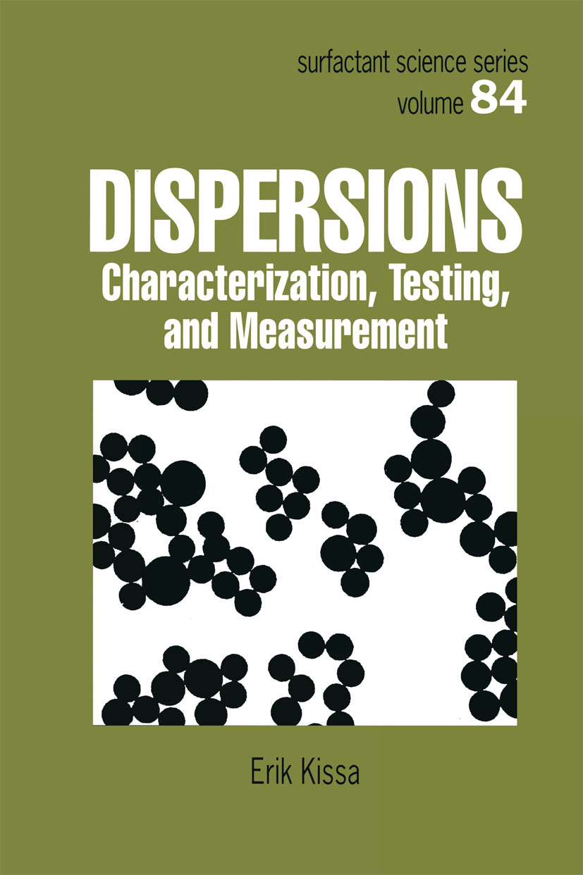 Dispersions: Characterization, Testing, and Measurement, 1st Edition (Hardback) book cover