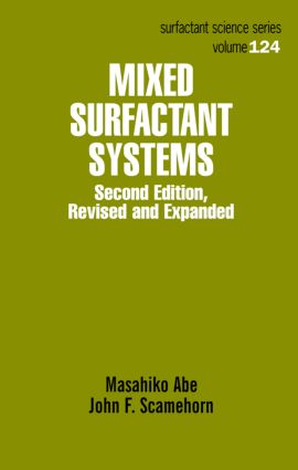 Mixed Surfactant Systems: 2nd Edition (Hardback) book cover