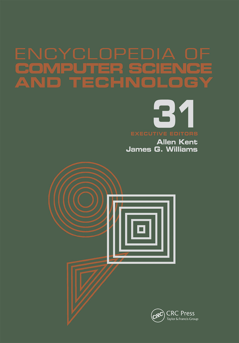 Encyclopedia of Computer Science and Technology: Volume 31 - Supplement 16: Artistic Computer Graphics to Strategic Information Systems Planning, 1st Edition (Hardback) book cover