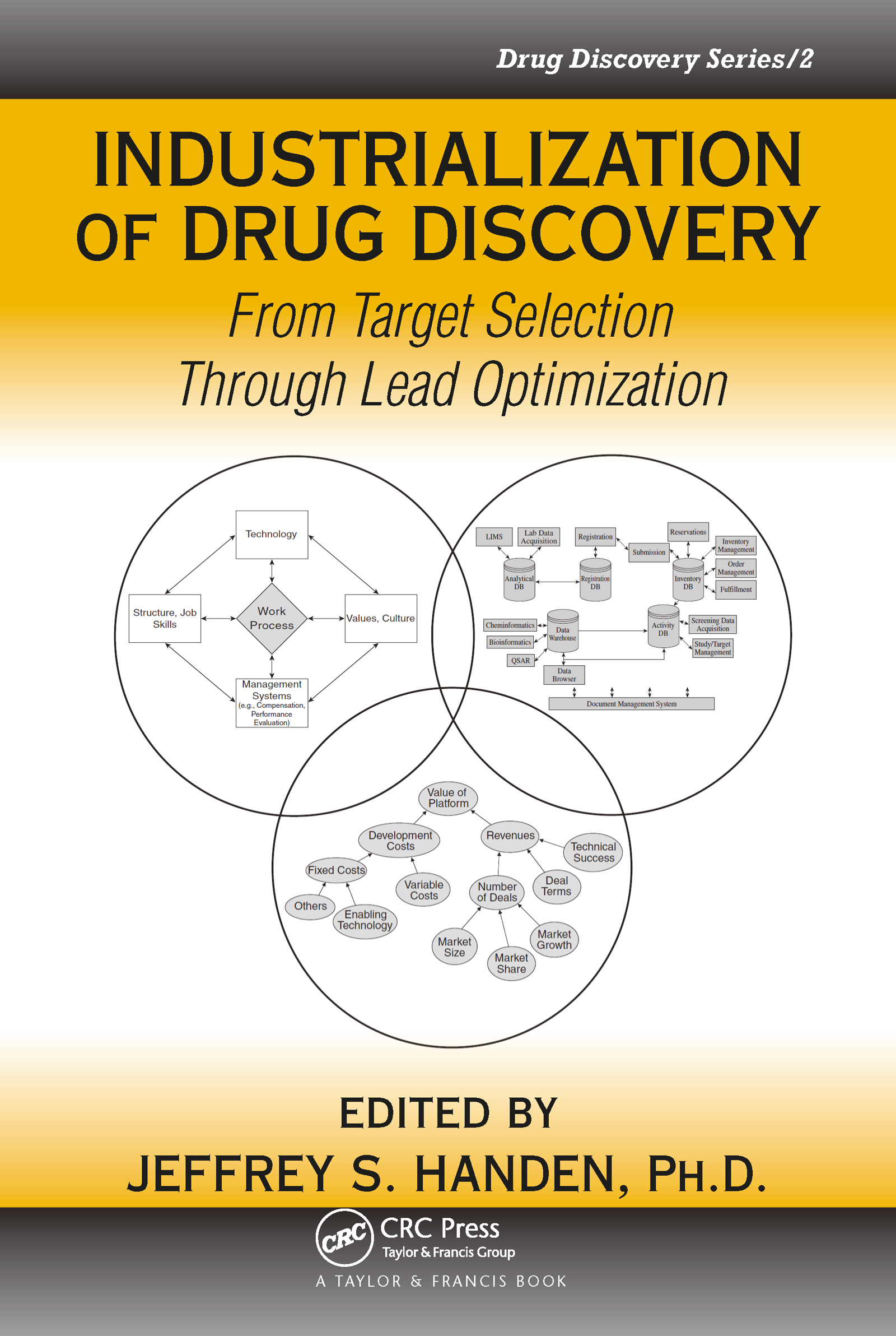 Industrialization of Drug Discovery: From Target Selection Through Lead Optimization, 1st Edition (Hardback) book cover