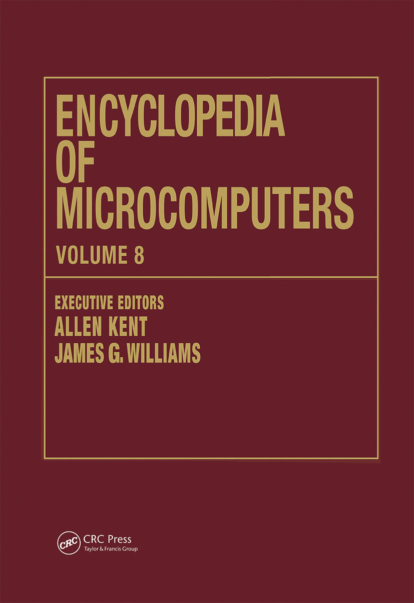 Encyclopedia of Microcomputers: Volume 8 - Geographic Information System to Hypertext, 1st Edition (Hardback) book cover