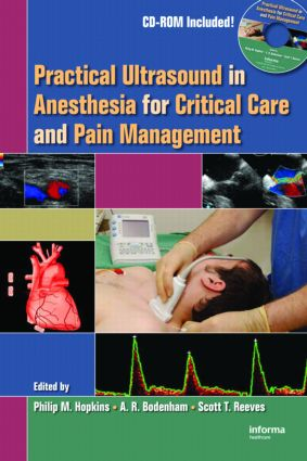Practical Ultrasound in Anesthesia for Critical Care and Pain Management (Hardback) book cover