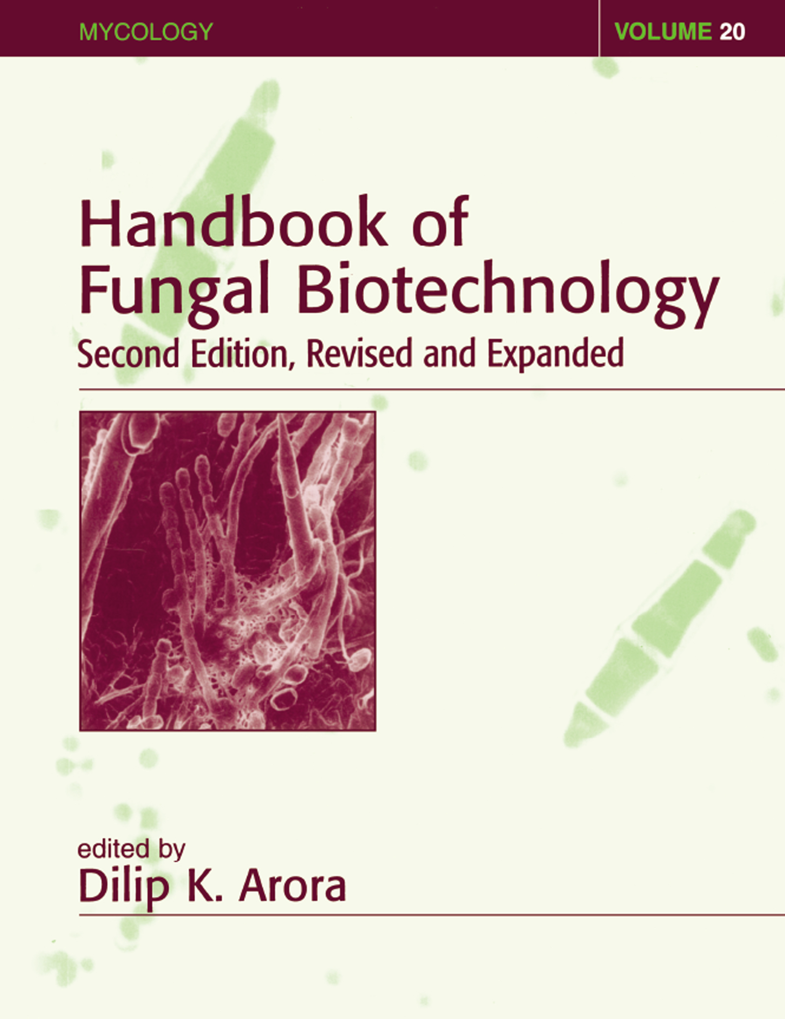 Handbook of Fungal Biotechnology: 2nd Edition (Hardback) book cover