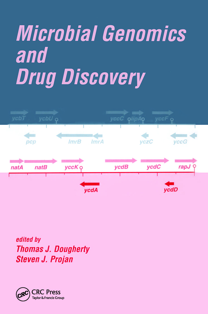 Microbial Genomics and Drug Discovery: 1st Edition (Hardback) book cover
