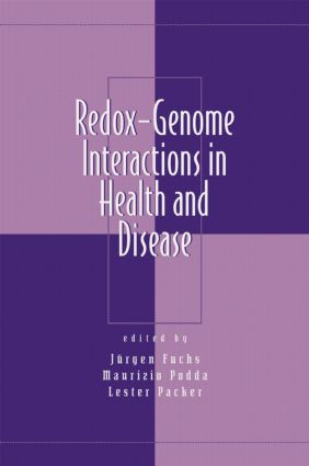 Redox-Genome Interactions in Health and Disease: 1st Edition (Hardback) book cover
