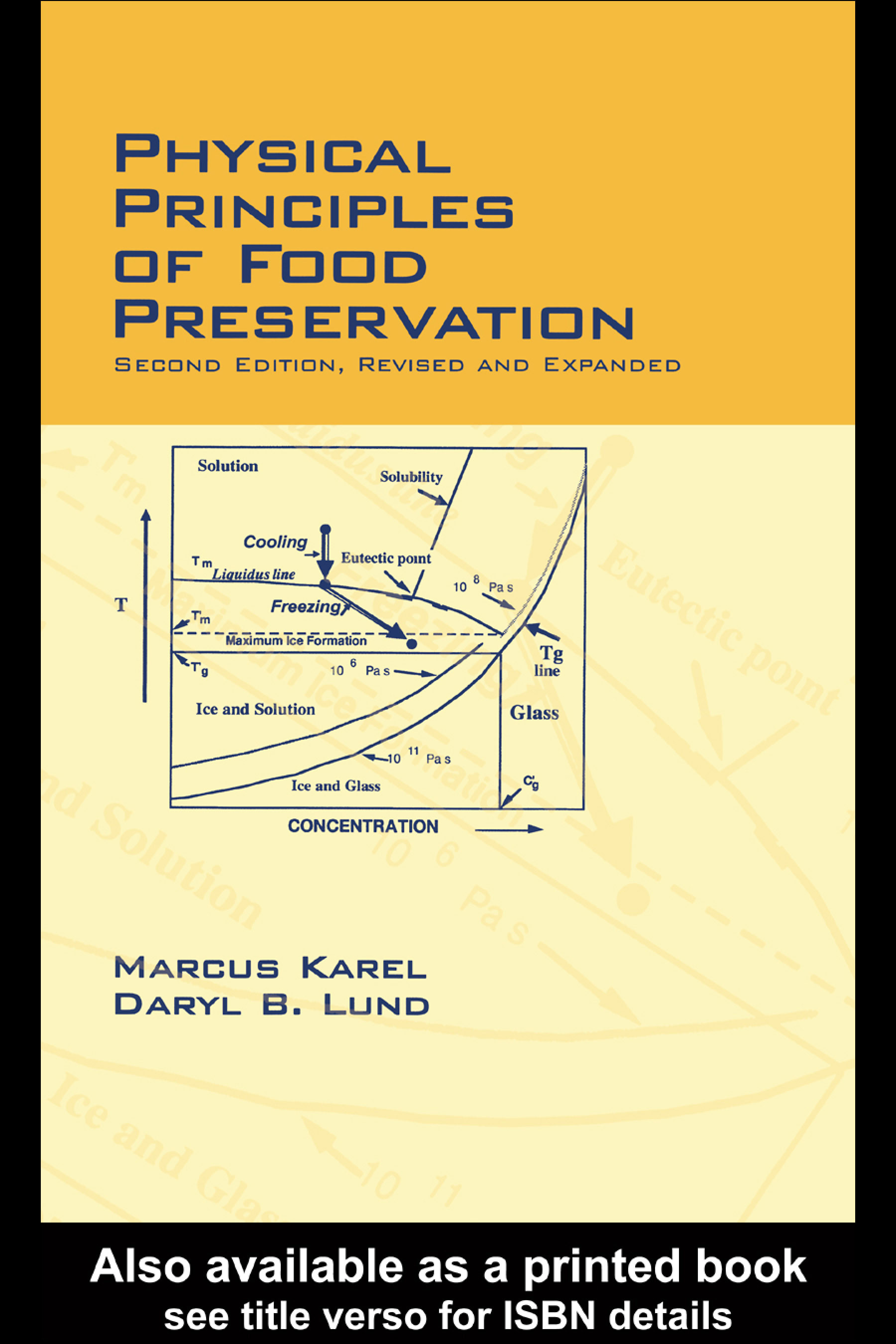 Physical Principles of Food Preservation: Revised and Expanded, 2nd Edition (Hardback) book cover