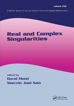 Real And Complex Singularities: 1st Edition (Hardback) book cover