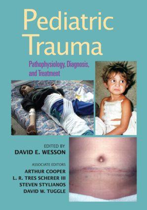 Pediatric Trauma: Pathophysiology, Diagnosis, and Treatment, 1st Edition (Hardback) book cover