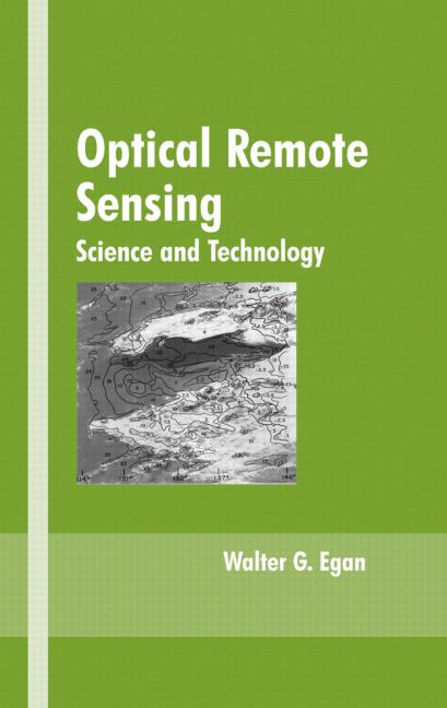 Optical Remote Sensing: Science and Technology, 1st Edition (Hardback) book cover