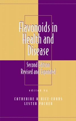 Flavonoids in Health and Disease: 2nd Edition (Hardback) book cover