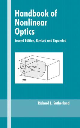 Handbook of Nonlinear Optics: 2nd Edition (Hardback) book cover