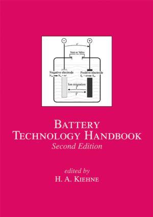 Battery Technology Handbook: 2nd Edition (Hardback) book cover