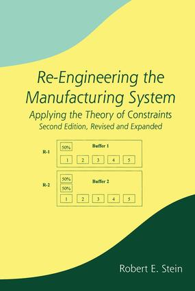 Re-Engineering the Manufacturing System: Applying the Theory of Constraints, Second Edition, 2nd Edition (Hardback) book cover