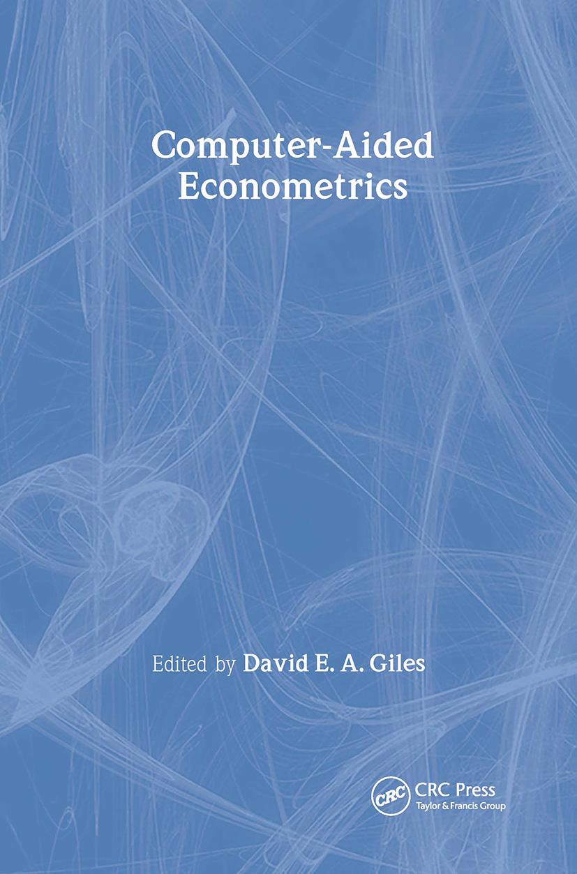 Computer-Aided Econometrics: 1st Edition (Hardback) book cover