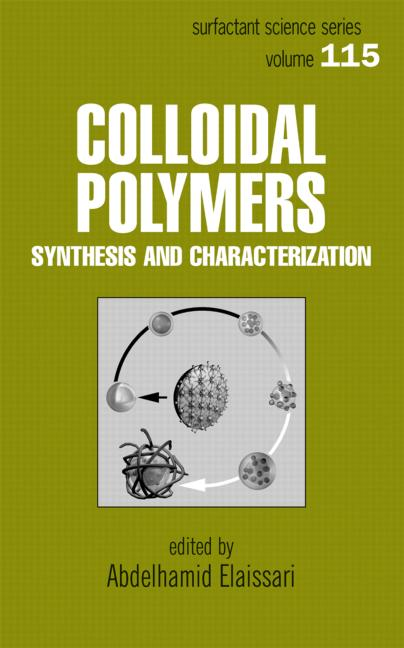 Colloidal Polymers: Synthesis and Characterization, 1st Edition (Hardback) book cover
