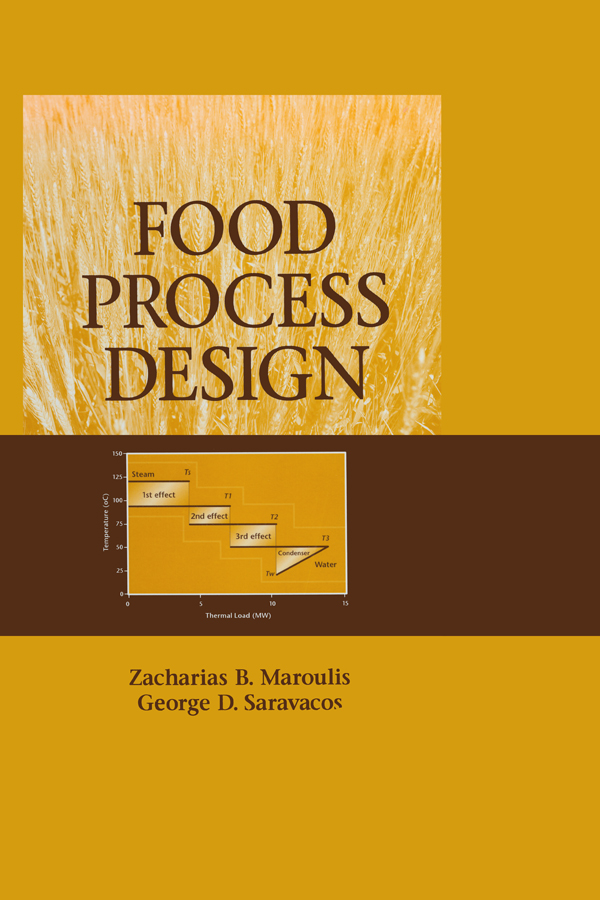 Food Process Design: 1st Edition (Hardback) book cover