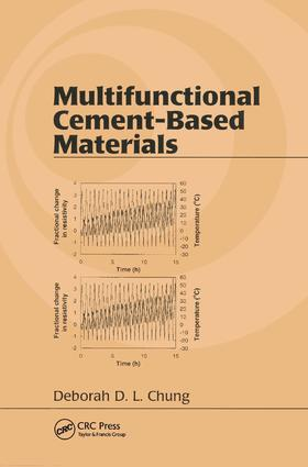 Multifunctional Cement-Based Materials book cover