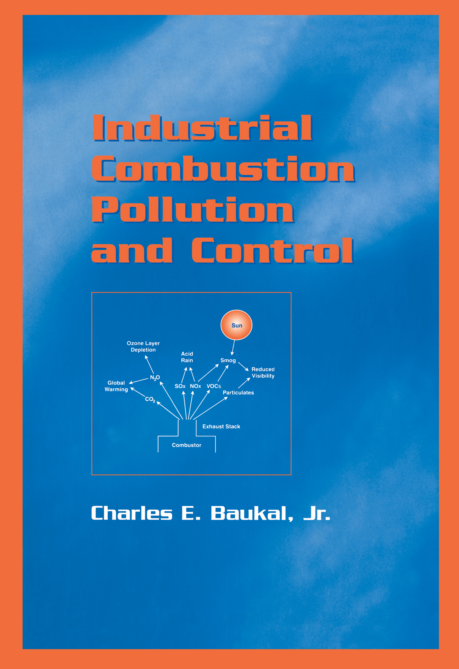 Industrial Combustion Pollution and Control book cover