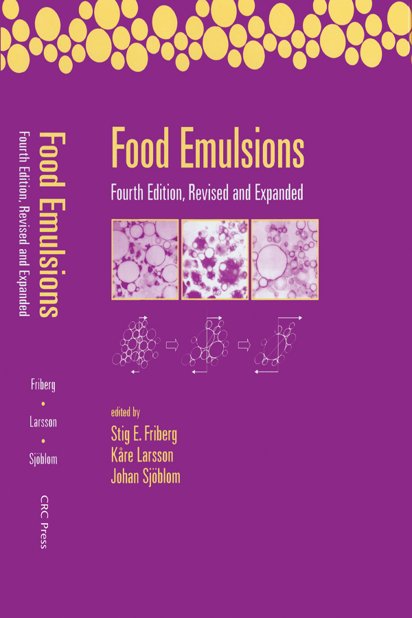 Food Emulsions: 4th Edition (Hardback) book cover