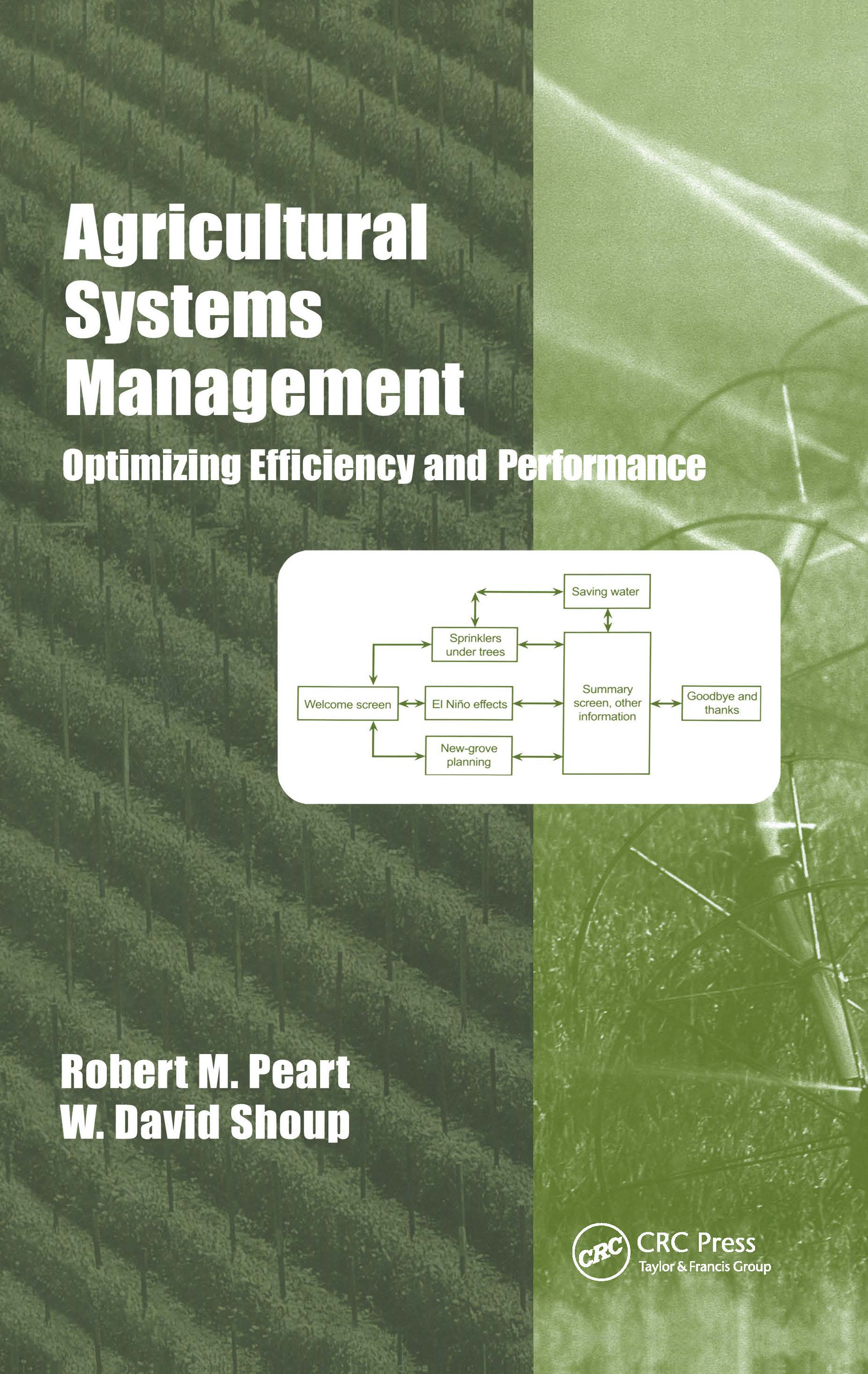 Agricultural Systems Management: Optimizing Efficiency and Performance book cover
