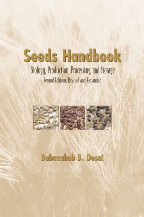 Seeds Handbook: Processing And Storage, 2nd Edition (Hardback) book cover