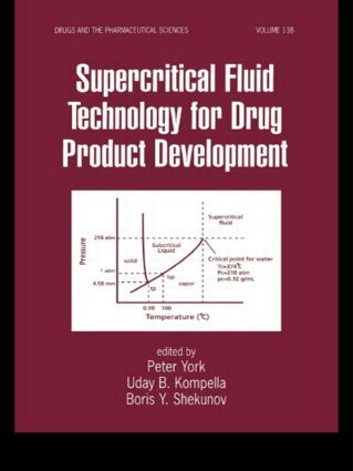 Supercritical Fluid Technology for Drug Product Development: 1st Edition (Hardback) book cover