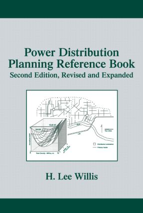 Power Distribution Planning Reference Book: 2nd Edition (Hardback) book cover