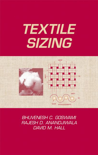 Textile Sizing: 1st Edition (e-Book) book cover