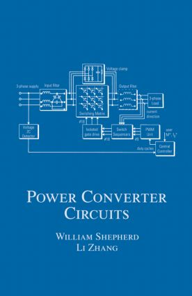 Power Converter Circuits: 1st Edition (Hardback) book cover