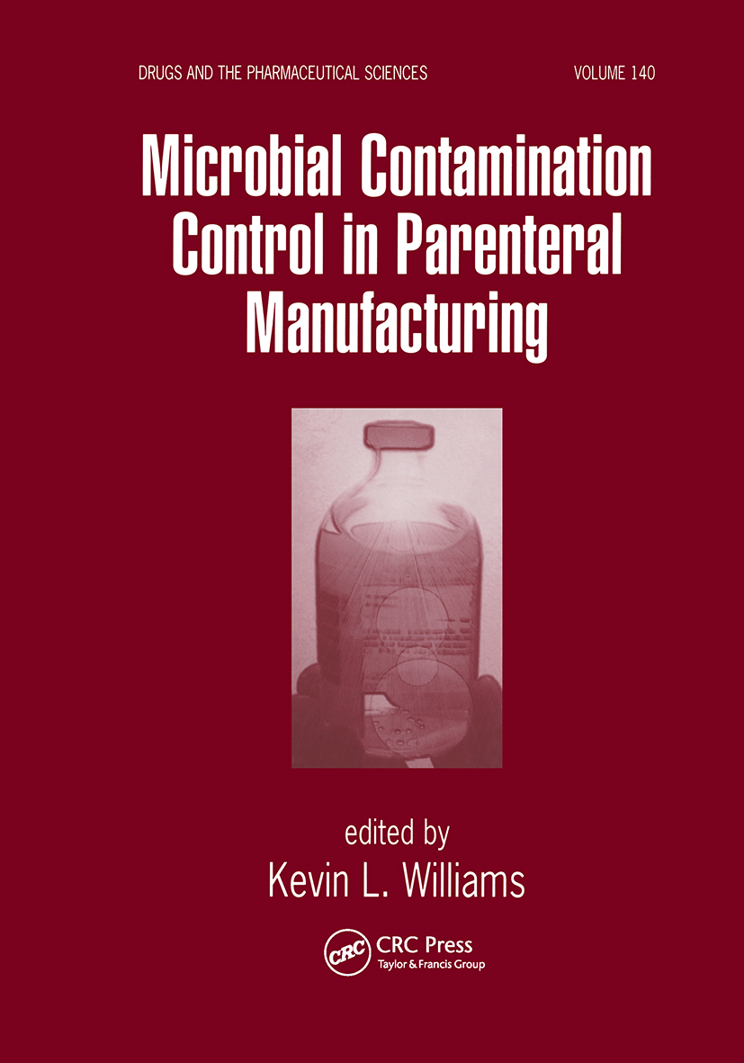 Microbial Contamination Control in Parenteral Manufacturing: 1st Edition (Hardback) book cover
