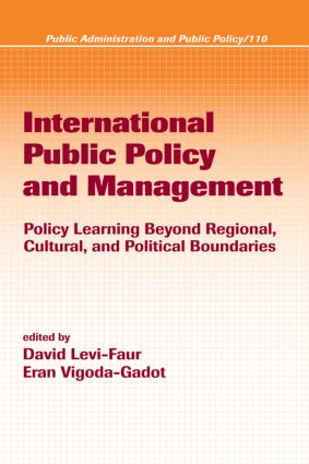International Public Policy and Management: 1st Edition (Hardback) book cover