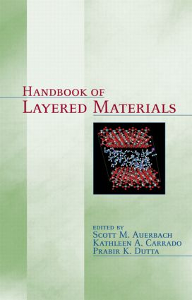 Handbook of Layered Materials: 1st Edition (Hardback) book cover