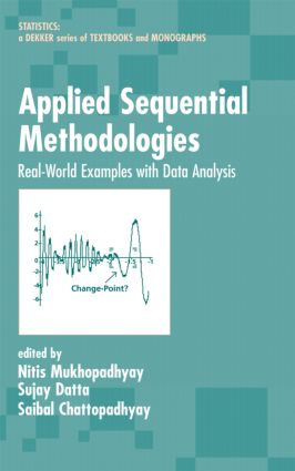Applied Sequential Methodologies: Real-World Examples with Data Analysis book cover