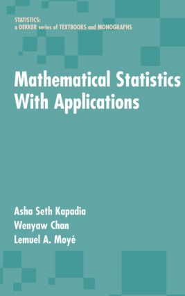 Mathematical Statistics With Applications book cover