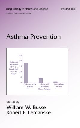 Asthma Prevention book cover
