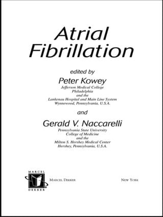 Atrial Fibrillation book cover