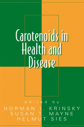 Carotenoids in Health and Disease: 1st Edition (Hardback) book cover