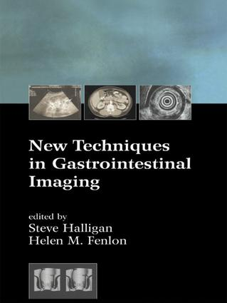 New Techniques in Gastrointestinal Imaging: 1st Edition (Hardback) book cover
