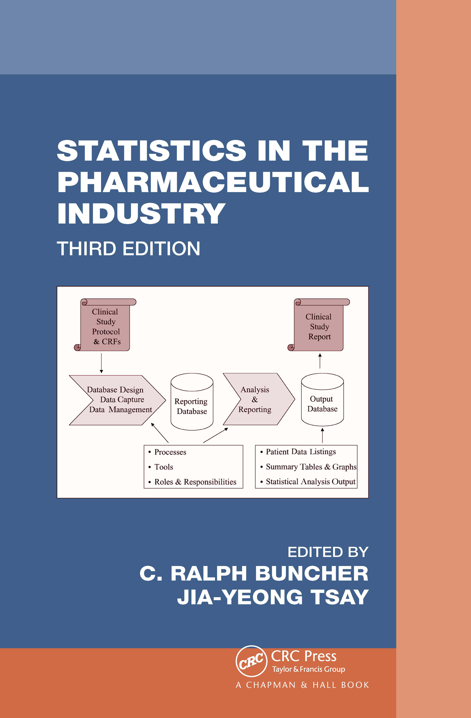 Statistics In the Pharmaceutical Industry: 3rd Edition (Hardback) book cover